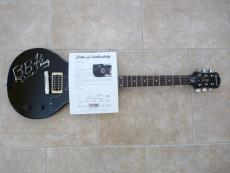 BB King Blues Signed Autographed Electric Guitar PSA Certified King Of Blues #2