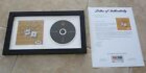 BB King Deuces Wild Signed Autographed Framed CD Display PSA Certified
