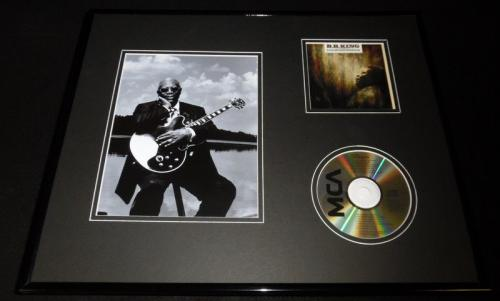 BB King Framed 16x20 Live at San Quentin CD & Photo Display