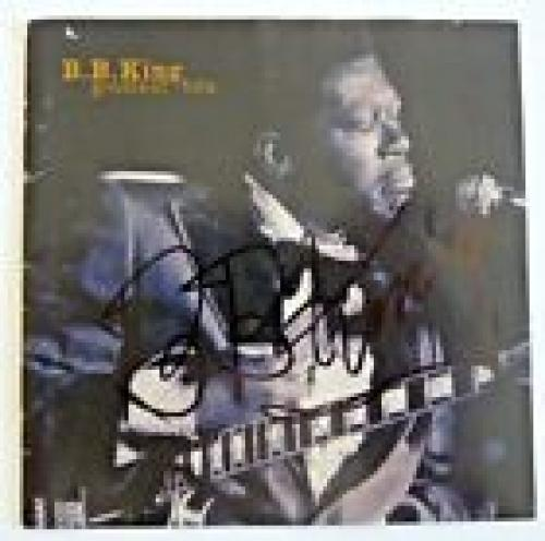BB King Greatest Hits Signed Autographed CD Cover PSA & BAS Guaranteed READ