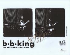 B.B. KING HAND SIGNED 8x10 PHOTO   AWESOME+RARE      LEGENDARY GUITARIST     JSA