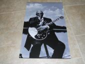 BB King HUGE 20x30 Museum Piece Signed Autographed Photo PSA Certified