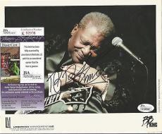 Bb King Music Legend Signed Autographed 8x10 Promo Photo Authentic Rare Jsa Coa