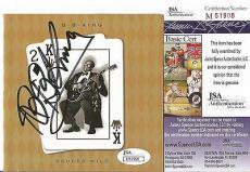 "Bb King Music Legend Signed Autographed ""deuces Wild"" Cd Booklet Jsa Coa Rare"