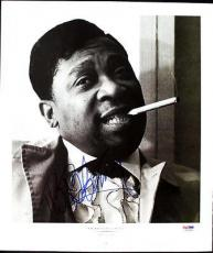 B.b. King Signed 11.5x13.5 Magazine Page Photo Psa/dna #i81944