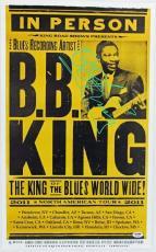 Autographed B.B. King Picture - 22x14 Concert Poster PSA DNA #Q12556