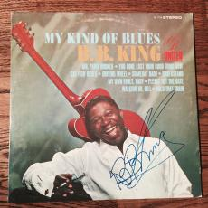 B.B. King Signed Album My Kind Of Blues PSA DNA Full Letter COA