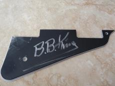 BB King Signed Autograph Guitar Pickguard Pick Guard PSA Guaranteed READ #1