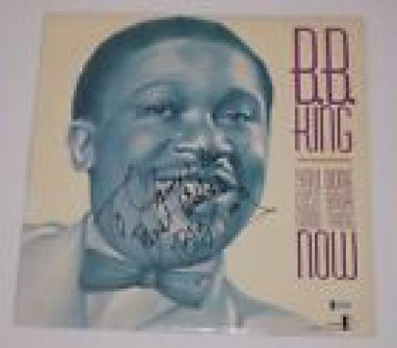 BB King Signed Autograph YOU DONE LOST YOUR GOOD THING NOW Record Album BAS COA