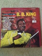 BB KING Signed Autographed A Heart Full Of Blues ALBUM LP B.B. Blues COA