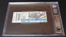 BB King Signed Autographed Beckett Certified & Slabbed Concert Ticket #2