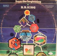 """BB KING Signed Autographed """"From The Begining"""" Album LP JSA #Y53794"""