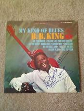 BB KING Signed Autographed My Kind Of Blues ALBUM LP B.B. Blues COA
