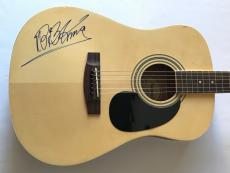 BB King signed guitar acoustic autographed beckett loa blues b.b. king