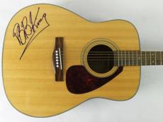 B.b. King Signed Guitar Acoustic Autographed Psa/dna #h63626