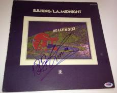 B.B. KING Signed L.A. MIDNIGHT ALBUM w/ PSA DNA Coa BB