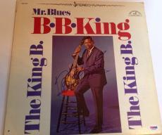 B.B. KING Signed THE KING B. ALBUM w/ PSA DNA Coa BB