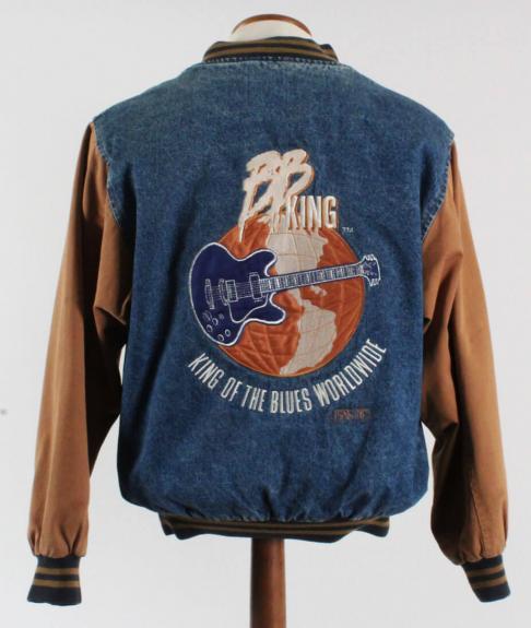BB King Tour Jacket Worn by Melvin Wildcat Jackson