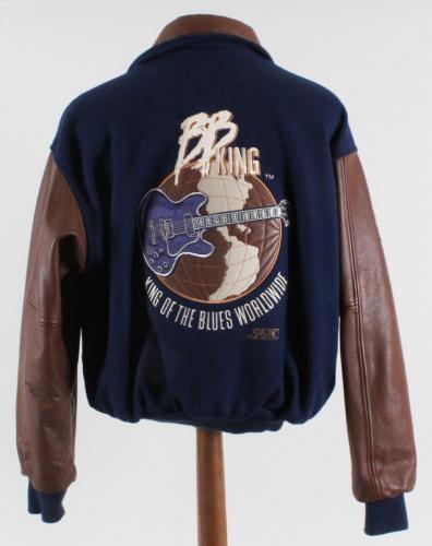 BB King Tour Jacket Worn by Melvin Wildcat Jackson – COA