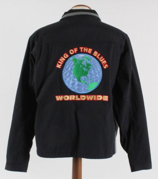 BB King Tour Jacket Worn by Melvin Wildcat Jackson – COA