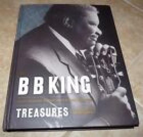 BB King Treasures Large Signed Autographed HB Book PSA Certified #2 Blues Great