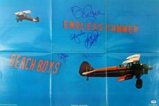 Brian Wilson Autographed Photograph - Beach Boys 5 Jardine Love +2 20x30 Poster Psa #w00436