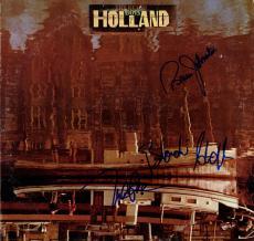 Beach Boys Autographed Signed Holland Album Cover AFTAL UACC RD COA