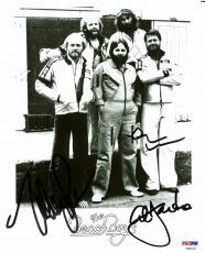 Beach Boys (Brian Wilson, Al Jardine & Mike Love) Signed 8X10 Photo PSA #AB03333