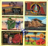Beach Boys Love And Johnston Signed Light Album Cover AFTAL UACC RD COA