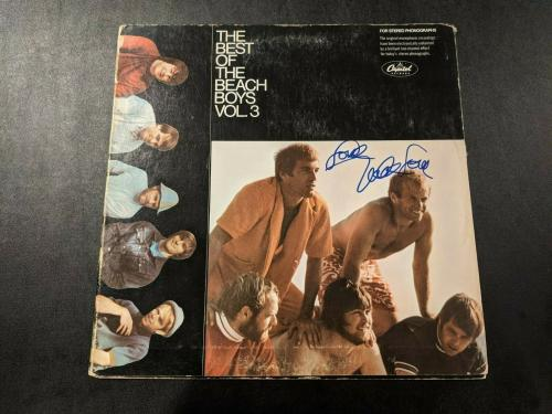 BEACH BOYS MIKE LOVE signed autographed BEST OF..VOL.3 LP RECORD BECKETT COA BAS