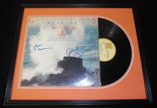 Beach Boys Signed Framed Good Vibrations Best Of 1974 Record Album Display