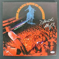 Beach Boys (Wilson, Love, Jardine & Chaplin) Signed Album Cover PSA/DNA #AB03348