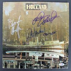 Beach Boys (Wilson, Love, Jardine, Chaplin) Signed Album Cover PSA/DNA #AB03446
