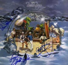 Beach Boys X3 Autographed Keepin The Summer Alive Album Cover AFTAL UACC RD COA