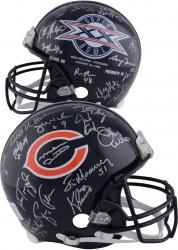 1985 Chicago Bears Team Signed Super Bowl XX Logo Riddell Pro-Line Authentic Helmet