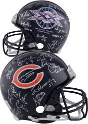 1985 Chicago Bears Team Signed Super Bowl XX Logo Riddell Pro-Line Authentic Helmet