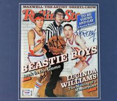 Beastie Boys Mike D Mca & Ad-Rock Signed Matted Rolling Stone Mag PSA #Q12584