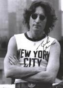 Beatles Facsimile Signature   John Lennon New York City Sleeveless Poster