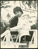 Beatles George Harrison Pattie Boyd Brian Epstein Signed Photograph Beckett BAS