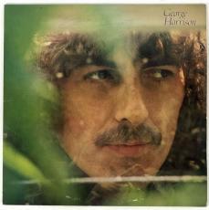 Beatles George Harrison Signed Autographed Album LP Beckett BAS