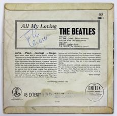 Beatles John Lennon Signed All My Loving Parlaphone 45 Rpm Album Epperson Coa