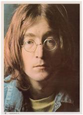 Beatles John Lennon Signed Autographed Graded 8 8x10 White Album Photo PSA/DNA