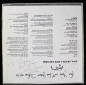 Beatles John Lennon & Yoko Ono Signed Autographed Album Sleeve GRADED 9 PSA/