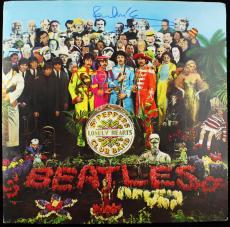 Beatles Paul Mccartney Authentic Signed Sgt Peppers Lhcb Album Psa/dna V05656