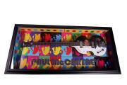 Beatles Paul McCartney Cased Airbrushed Hofner Bass Guitar Preorder PSA AFTAL