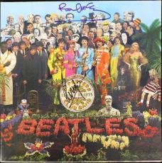 Beatles Paul Mccartney & Ringo Starr Signed Sgt Peppers Album Psa/dna Coa M52398