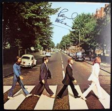 Beatles Paul Mccartney Signed Abbey Road Album Caiazzo & Psa/dna Loa V09776