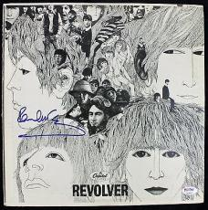 "Beatles Paul McCartney Signed Album ""Revolver"" Graded MINT 9 PSA/DNA Authentic"