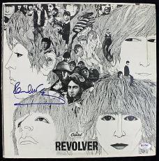 "Beatles Paul McCartney Signed Album ""Revolver"" Graded MINT 9 PSA/DNA Authentic"