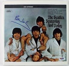 "Beatles Paul McCartney Signed Autographed Butcher Cover 10"" Album PSA/DNA"